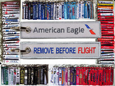 Keyring AMERICAN EAGLE - new logo - Remove Before Flight tag keychain