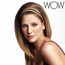 """Daisy Fuentes Wow LuxHair Braided Head Band  22"""" Style Fashion Beauty Accessory"""
