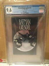 Batman Grendel Ashcan Platinum Silver Moon Variant - CGC 9.6 - EXTREMELY SCARCE