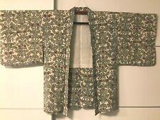 JAPANESE KIMONO JACKET (HAORI) FLOWERS GIACCA GIAPPONESE STUPENDA!!