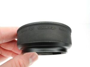 #2 Olympus Rubber Camera Lens Hood For OM 50mm f/1.4 50mm f/1.8 35mm f/2.8