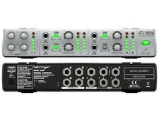 BEHRINGER AMP800 AMPLIFICATORE PER CUFFIE STEREO 4 CANALI