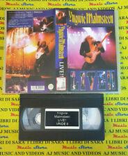 VHS YNGWIE MALMSTEEN Live!! DREAM CATCHER VRIDE 8 no cd mc dvd lp (VM4)