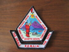SE-7 1990 Old North State Conclave Segment & Pocket Patch    c39