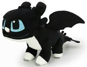"""OFFICIAL LICENSED How to Train Your Dragon3 Night Light Girl Plush Soft Doll 8"""""""