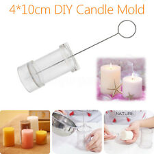 Clear DIY Candle Mold Round Acrylic Mould Candle Making Craft Stencil Handmaded