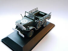 DODGE wc56 US ARMY ainsi Military Police Open Car Olive WWII, Victoria en 1:43!