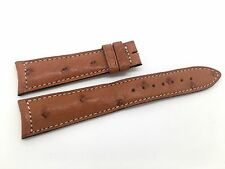 Brand new Jaeger Le Coultre Brown Genuine Ostrich band strap