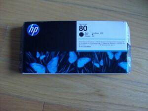 2021 GENUINE HP #80 BLACK PRINTHEAD/CLEANER C4820A DESIGNJET 1000 1050 NEW SEALE