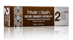 Hive Of Beauty Long Lasting Eyelash and Eyebrow Tint Brown 20ml