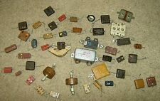 lot of 30+ vintage MICA & OTHER CAPACITORS