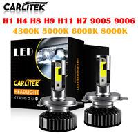 Mini H4 H7 H11 9005 9006 LED Headlight Bulbs 225000LM 6000K 4300K 5000K 8000K