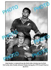JOHN SATTLER SOUTH SYDNEY RABBITOHS LEGEND A3 PHOTO 2