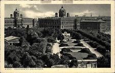 Wien Vienna Austria AK ~1942 Volksgarten Museum Verlag Lebermann ungelaufen