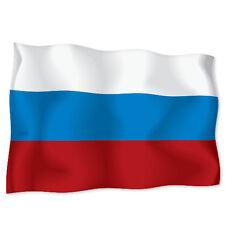 """RUSSIA Russian Flag car bumper sticker decal 6"""" x 4"""""""