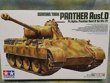 TAMIYA 1/35 tedesco CARRO ARMATO PANTHER AUSF. D Sd.Kfz.17 kit modello militare SERBATOIO #35345