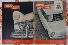 AMS Auto Motor und Sport 1957 + 1959 DKW Junior Lloyd LP 600 Abarth 850