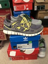 Nike Free Run 2 Package Deal Grey Men's Size 8 Includes Both