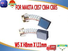 Carbon Brushes For Makita CB57 CB64 CB85 191627-8 6510B-2 8410B GV5000 9035SB AU