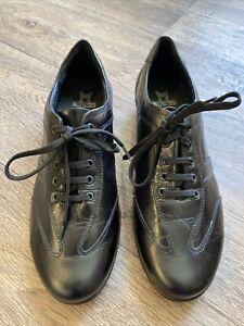Mephiso Cool - Air Black Lace Up Walking Shoe Uk 4