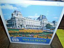 VIVA LA FRANCE ~ THE LOUVE, PARIS ~HOYLE 550 PC. PUZZLE, #8588, NEW, SEALED,