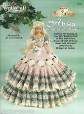 Alysia of Golden Meadow Ladies of Fashion Crochet Pattern for Barbie Dolls NEW