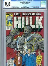Incredible Hulk #346 CGC 9.8 White Pages McFarlane Cover Marvel Comics 1988
