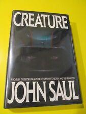 Creature, by John Saul, 1st Edition