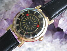 Ernest Borel Vintage Gold-Plate/Steel Automatic Cocktail Wrist Watch, Unusual