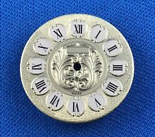 Unbranded Watch Dial Part -Latin Numbers- 22mm -Swiss Made- Incabloc #713