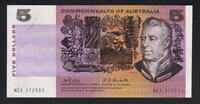 Australia R-203.  (1969) Five Dollars -  Phillips/Randall..  gEF