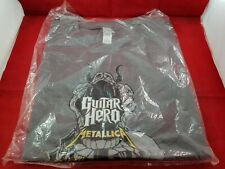 Brand New Guitar Hero Metallica T-shirt Size Large Rare