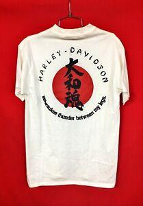 Sundance Tokyo Japan Custom Works Team T-shirt 1992 Daytona Harley Davidson