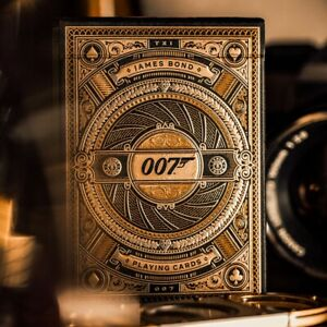 Theory 11 007 Playing Cards - James Bond Deck - Premium High Quality Cards