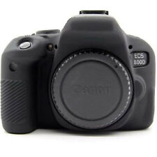 For Canon EOS 650D 750D 800D 600D SLR Camera Silicone Armor Skin Case Body Cover