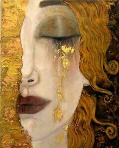 Gustav Klimt -Golden Tears 8 X 10 - Print