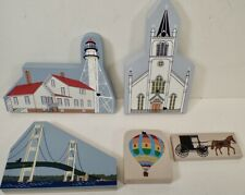 4 Cat's Meow Village Michigan Mackinac Bridge Whitefish Point Lighthouse St Anne