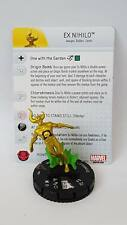Heroclix Marvel Avengers Assemble #056 EX NIHILO Super Rare with card