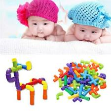 Kids Children Pipe Building Blocks Preschool Learning Educational Toys SALE FI