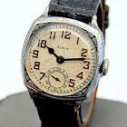 1930 Art Deco ELGIN Watch 7 Jewels Cal. Grade 485 U.S.A. Vintage Wristwatch