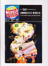 """Wereld In Beeld  Nr.12  :1960's:   : """"Communicatie-Middelen"""" :   : Dutch Copy! :"""