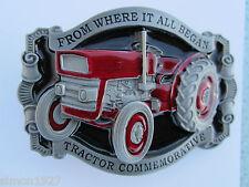 Tractor belt buckle classic tractor tractor commemorative.