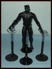 3 BLACK Kaiser Action Figure Display Stands For 12 Marvel Avengers KEN  G.I. Joe