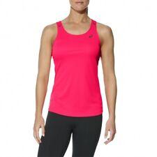 ASICS Open Back Fitness Tank Top Women's Sleeveless Sports T-Shirt Pink
