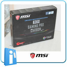 Placa base ATX MSI B360 GAMING PRO CARBON Socket 1151 con DEFECTO LAN