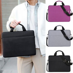 15.6 inch Laptop Shoulder Bag PC Waterproof Carrying Soft Notebook Case Cover UK