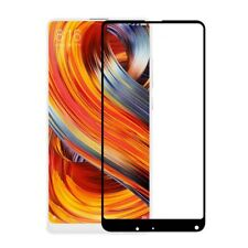 Xiaomi Mi Mix 2s Screen Protector Best Tempered Glass Thin Full Protection BLACK