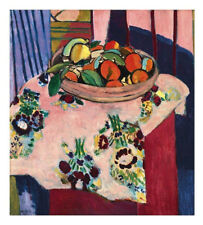 Basket with Oranges by Henri Matisse Art Print Still Life Poster 11x14