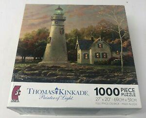 """Thomas Kinkade Painter of Light """"Serenity Cove"""" 1000 Piece Puzzle 27""""x 20"""