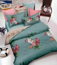 BUTTERFLY-3 Super King Size Bed Duvet/Doona/Quilt Cover Set New